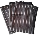 H) Bamboe glasdoeken 3x (zwart)_