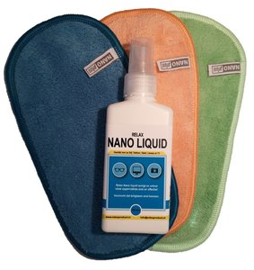Nano Brillendoekjes 3x met NanoLiquid