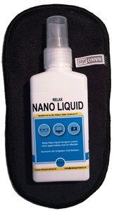 Nano Brillendoekje met NanoLiquid (zwart)