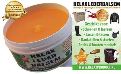 Relax Lederbalsem met Bijenwas